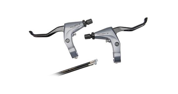 Shimano Claris BL-2400 Bremshebel Set silber